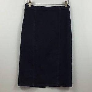 Polo by Ralph Lauren Denim Pencil Skirt